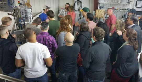Roughtail Brewing Tour